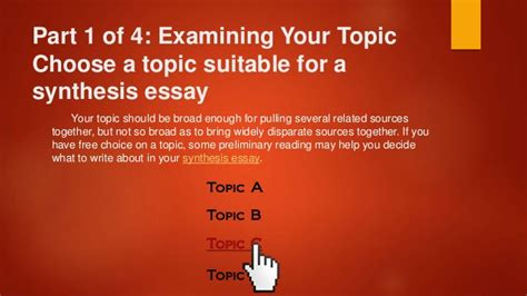 Tips For Writing A Synthesis Essay by Useful Tips For Writing A Synthesis Essay