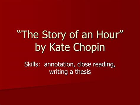 Kate Chopin The Story Of An Hour Essay by College Essays College Application Essays Kate Chopin The Story Of An Hour Essay