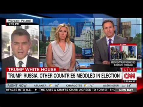 cnn reporter calls israelis who gathered to watch gaza cnn reporter calls trump press conference a quot fake news