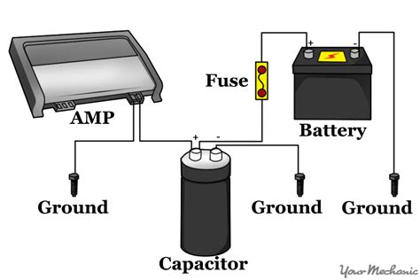 capacitor wiring diagram air compressor capacitor wiring