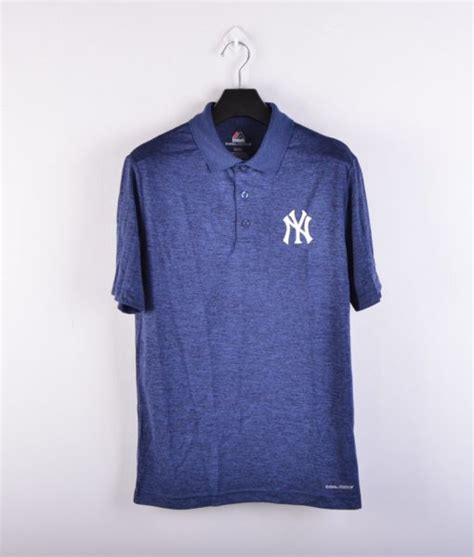 Polo Shirt Kaos Kerah Pria New York Yankees Nike jual polo shirt baseball majestic coolbase 2018 original new york yankees baru polo shirt