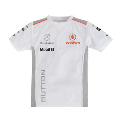 Kemeja Mercedes Racing new jenson button t shirt children 2013 vodafone