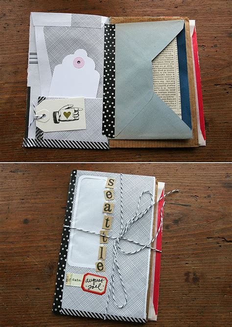 diy journal envelope journal 17 ideas to organize and display travel