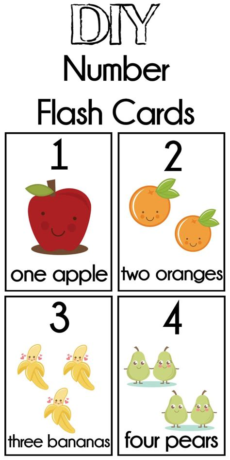 free printable number recognition cards best 25 free printable numbers ideas on pinterest