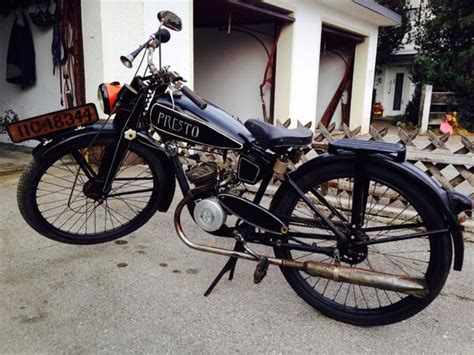Sachs Motorräder Gebraucht by Verkaufe Ein Oldtimer Motorrad Der Marke Presto Aus Dem