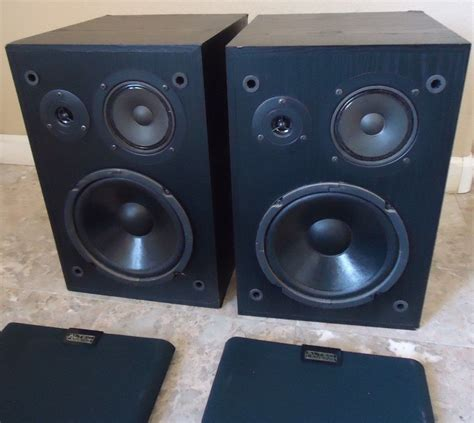 altec lansing 83 bookshelf speakers see