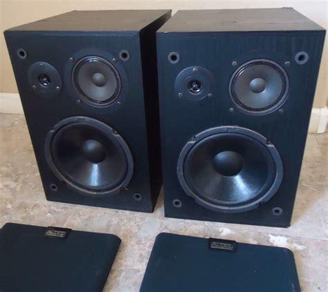 altec lansing 83 bookshelf speakers see