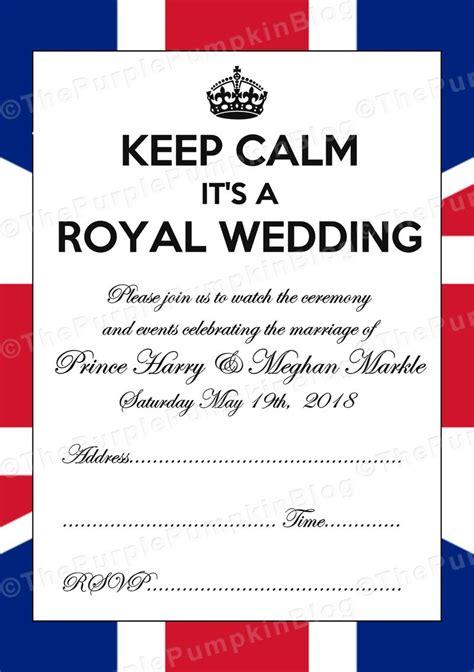 royal wedding invitations free printables for the royal wedding prince harry meghan