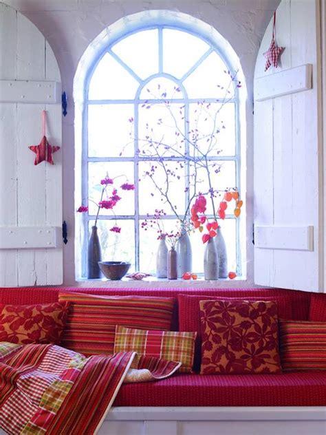 farben im wohnraum farbe rot im wohnraum