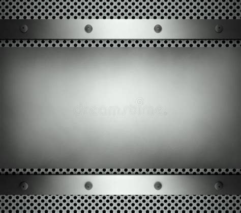 Steel Template With Copy Space Metal Background Stock Illustration Image 23483277 Metal Template