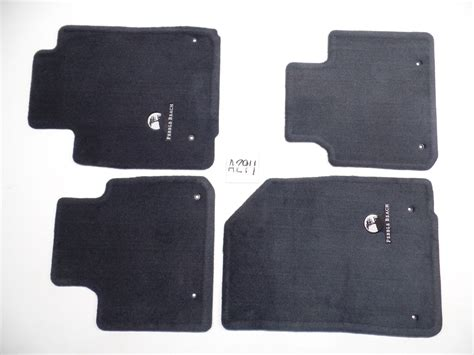 black floor mats oem nice lexus es350 07 12 front rear set