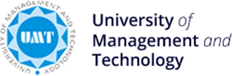 Umt Mba Admissions by Umt Of Management And Technology