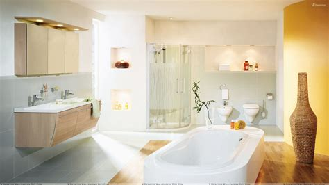 bathtub wallpaper white bathtub and white interior in bathroom wallpaper