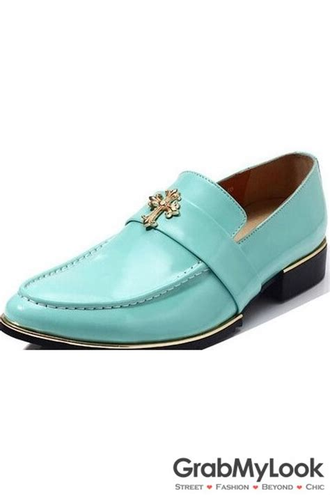 turquoise oxford shoes golden cross rock turquoise mens point dress