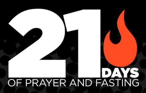 day of fasting 21 days prayer fasting day 6