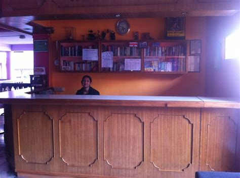hotel front desk picture of hotel planet kathmandu
