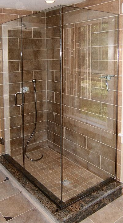 tiled showers tiled showers
