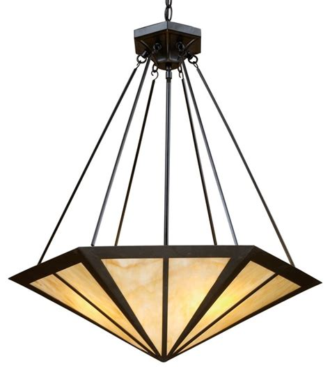 Craftsman Style Pendant Lighting Elk Lighting Oak Park Unique Pendant Light Fixture In