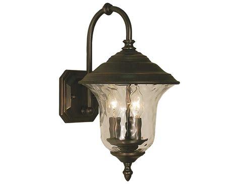 Lu Taman Garden Light Vinder 3 Watt framburg hartford three light outdoor wall light rm1220