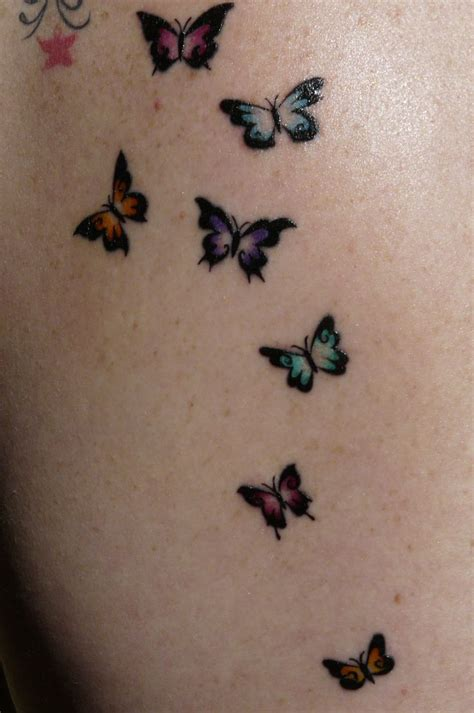 small body tattoos 29 best small butterfly tattoos on images on