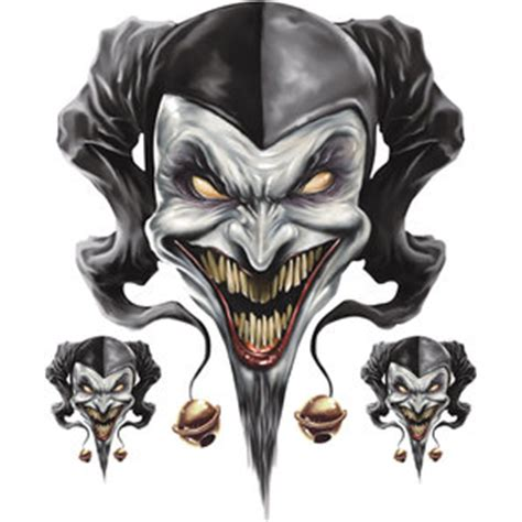 Louis Motorrad Shop Wesel by Buy Sticker Set Quot Airbrush Jester Quot Piece Louis Motorcycle