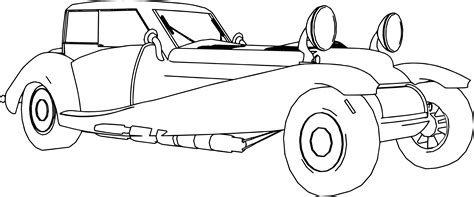 Vintage Car Coloring Pages Coloringsuite Com Cars The Coloring Pages