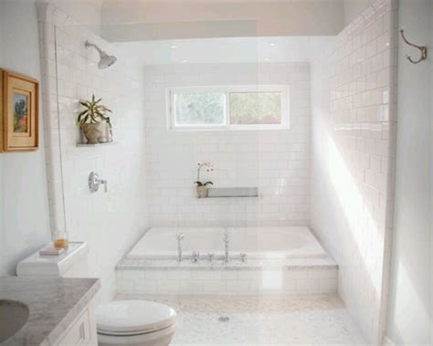 Bathroom Subway Tile Ideas by Large Tub Shower Combo Downtown Compound Pinterest