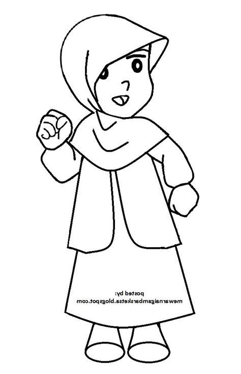 cara menggambar anime wanita cantik 12 gambar sketsa muslimah terbaru cantik dan simple 2018