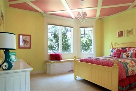 Bedroom Paint Ideas With Wood Trim Woodwork On Room Ceilings Kidspace Interiors