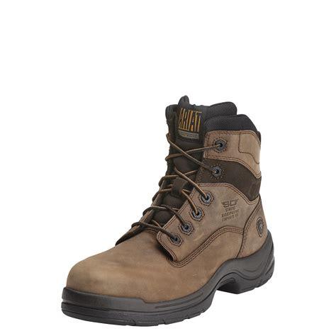 non slip work boots for ariat 10012946 flexpro 6 quot safety toe non metallic non slip