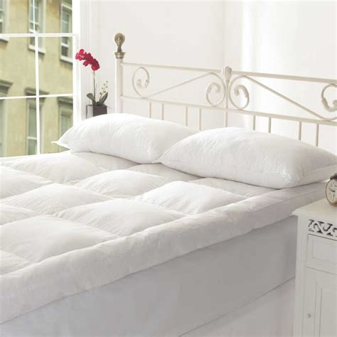 feather bed topper how to choose a feather mattress topper