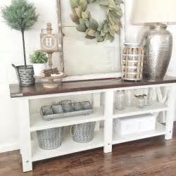 Ideas For Console Table With Baskets Design See This Instagram Photo By Txsizedhome 474 Likes Farmhouse Style Awesome