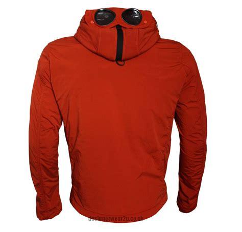 Cp Jaket cp company orange nycra jacket with goggles jackets from designerwear2u uk