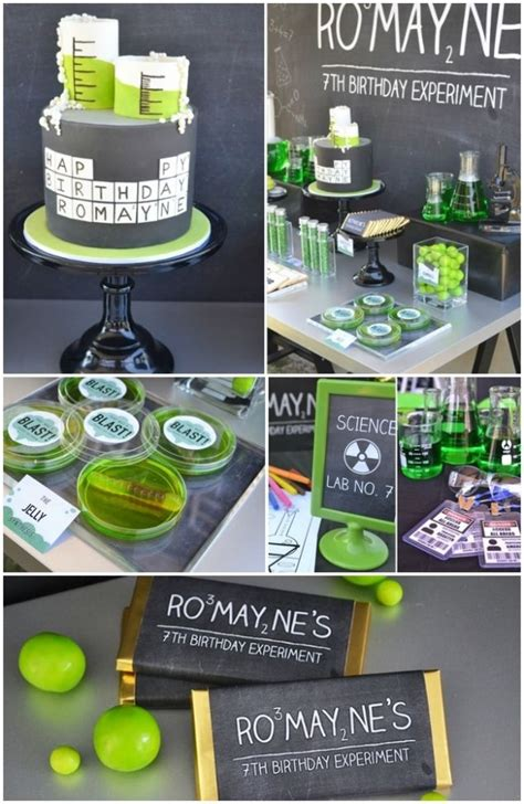 science themes pictures chemistry themed party ideas other treats include