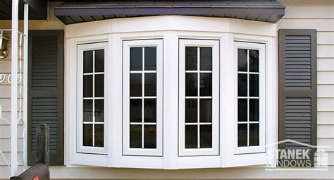 Bow Window Pictures vinyl bow windows photo gallery stanek replacement windows