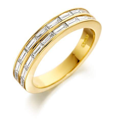 baguette half eternity ring 1636bdhy sterling