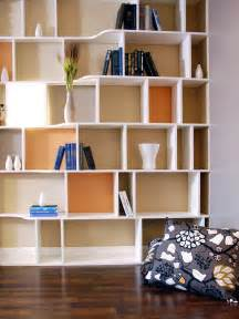 functional and stylish wall to wall shelves interior