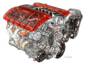 Chevrolet V8 Engines 2006 Chevrolet Corvette Z06 Ls7 V8 Engine Cutaway