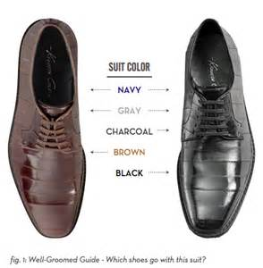 which color of shoes to wear with light grey suit 3
