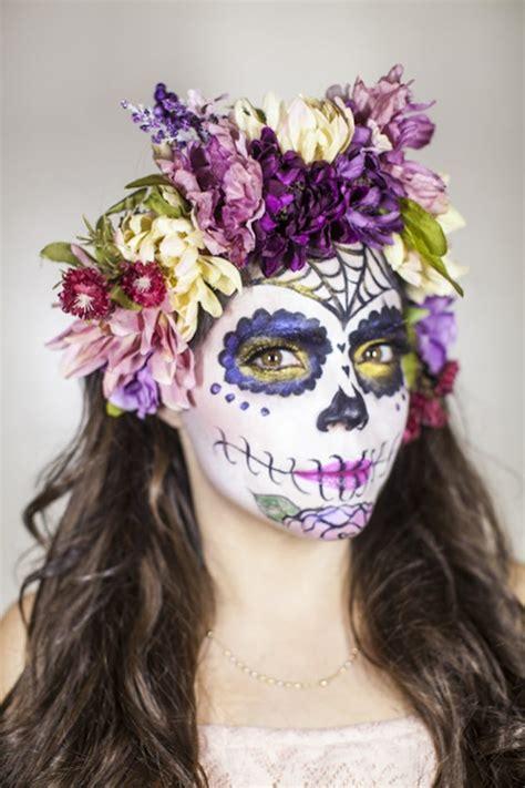 sugar skull makeup ideas   de los muertos