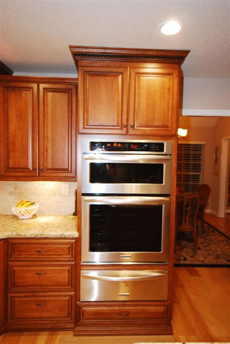 oven and microwave cabinet starmark cherry cabinets with kitchenaid oven microwave