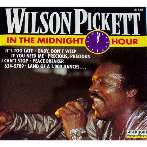 In The Midnight Hour in the midnight hour by wilson pickett cd with