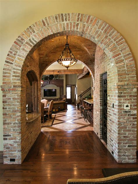 brick arch ideas pictures remodel  decor