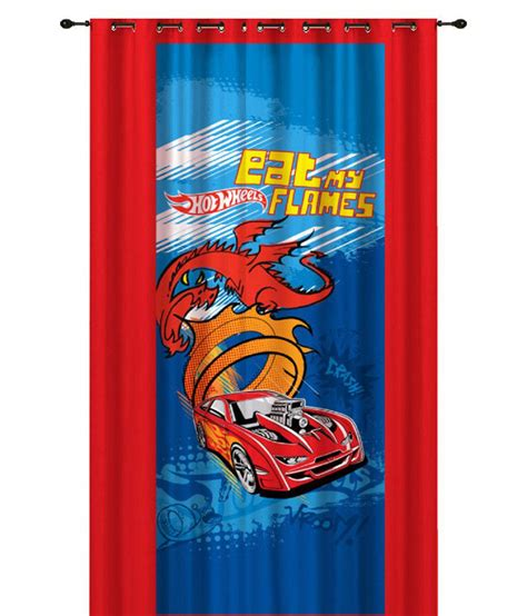 hot wheels curtains hot wheels single door eyelet curtain buy hot wheels