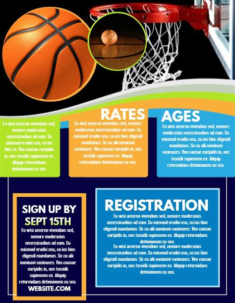 10 Best Basketball Poster Templates Images On Pinterest Online Poster Maker Online Posters Basketball Poster Template