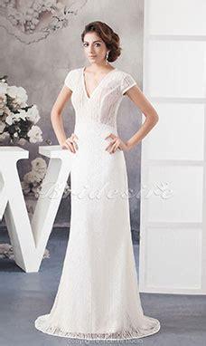 etui linie v ausschnitt bodenlang organza brautkleid mit kurze armel p950 bridesire mit spitze brautkleider 2017 hochzeitskleider
