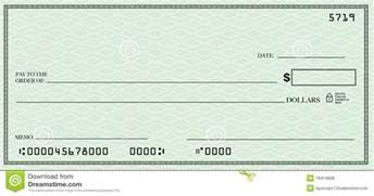 cheque template blank check clipart
