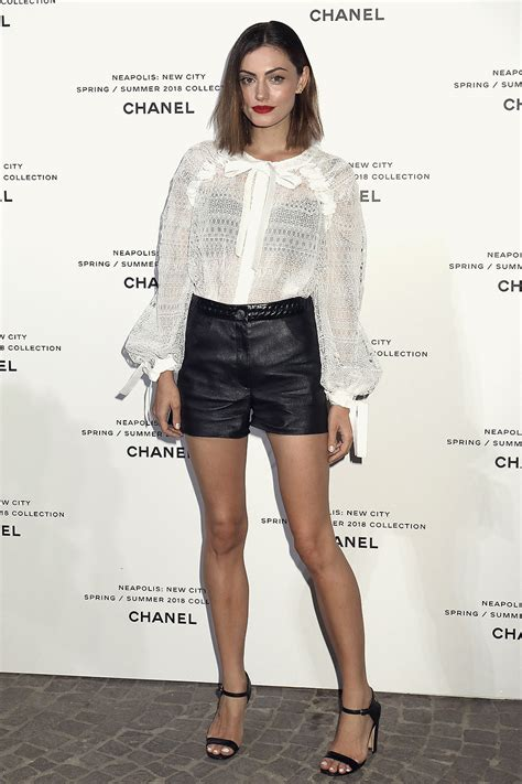 phoebe tonkin attends launch  lucia picas chanel springsummer leather celebrities