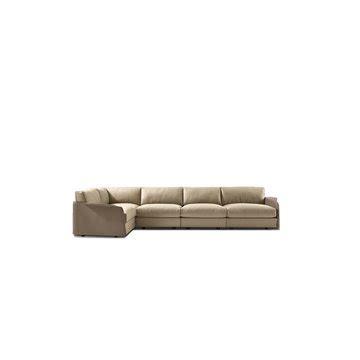 zliq sofa by moooi ecc hug armchair by giorgetti ecc