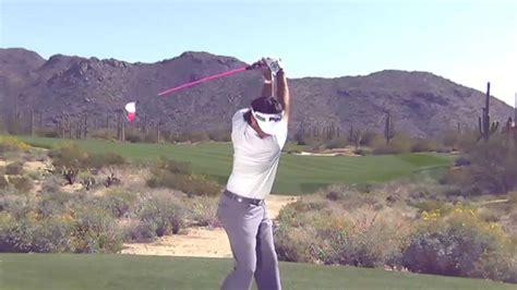 bubba watson swing vision bubba watson golf swing driver face on swing